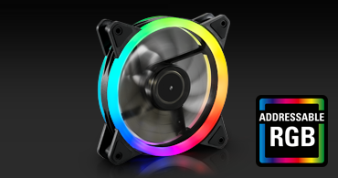 幻彩鯊魚扇 SHARK Blades RGB Fan